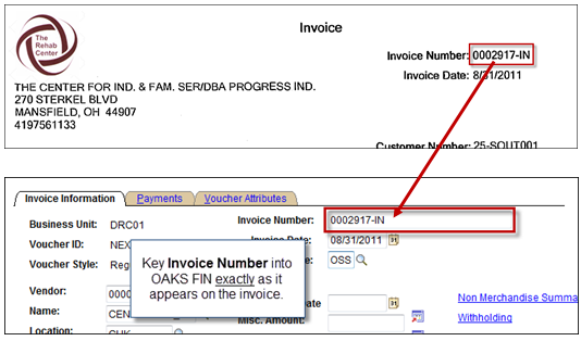 What does invoice number mean? Quora