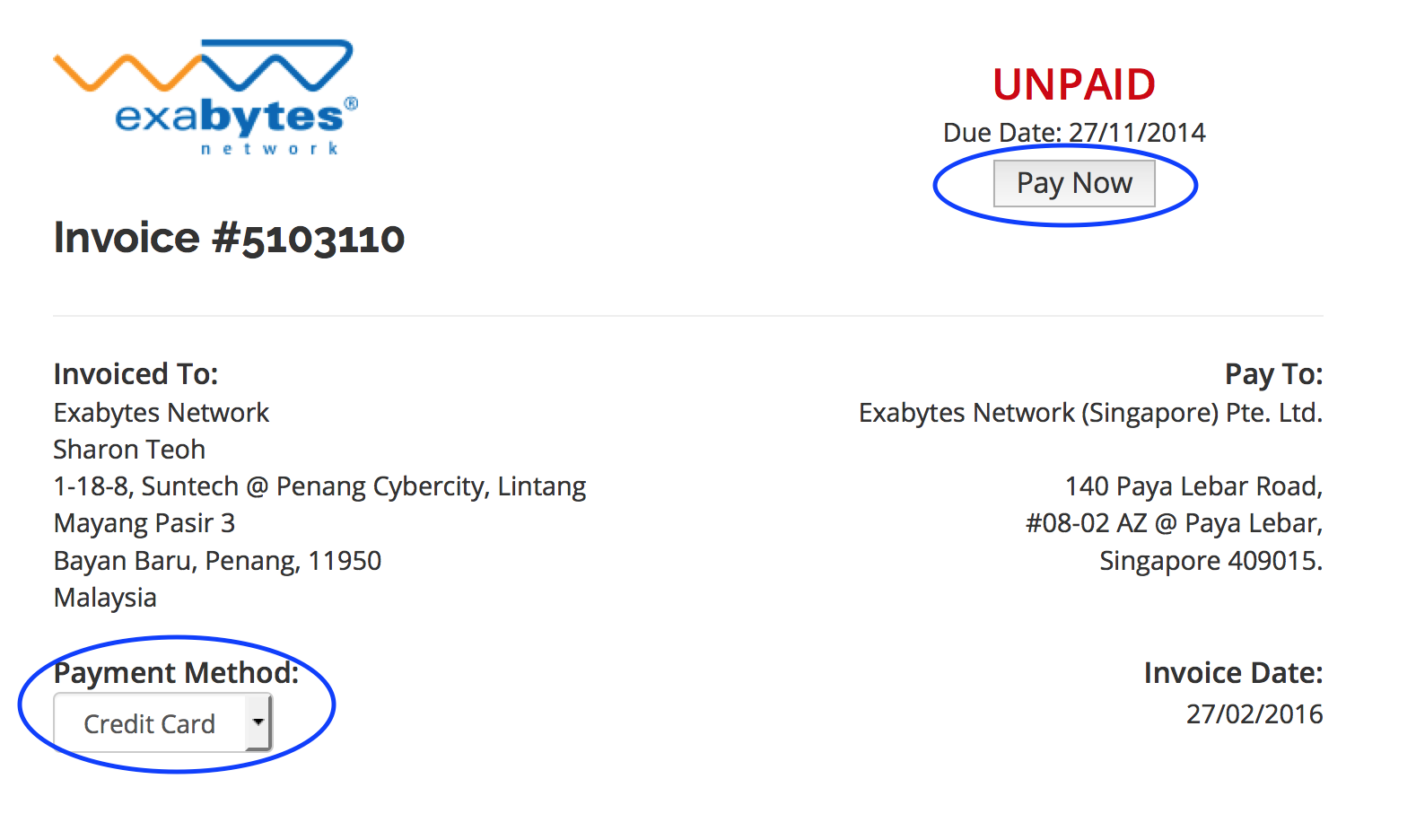 MY Payment Method : Exabytes.my (Malaysia) Support Portal