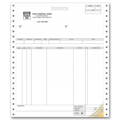 Invoice Printer Papers | Compu Tax Forms Private Limited