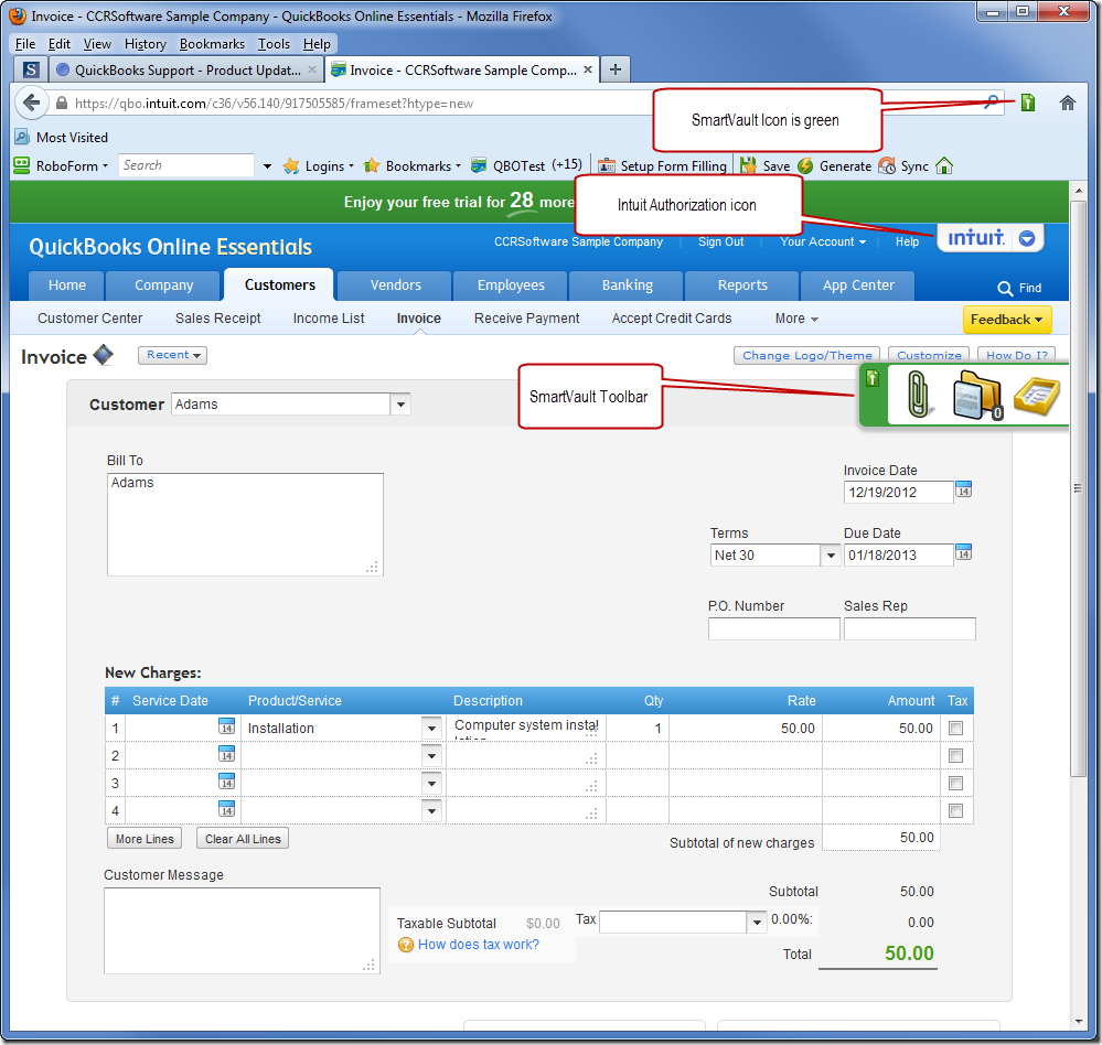 QuickBooks Online Document Management with SmartVault Accountex