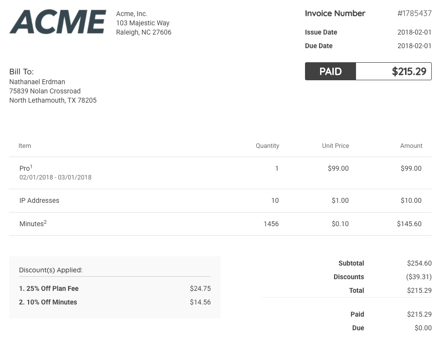 Redesigned, Reengineered, And Reimagined Invoices Deliver Advanced