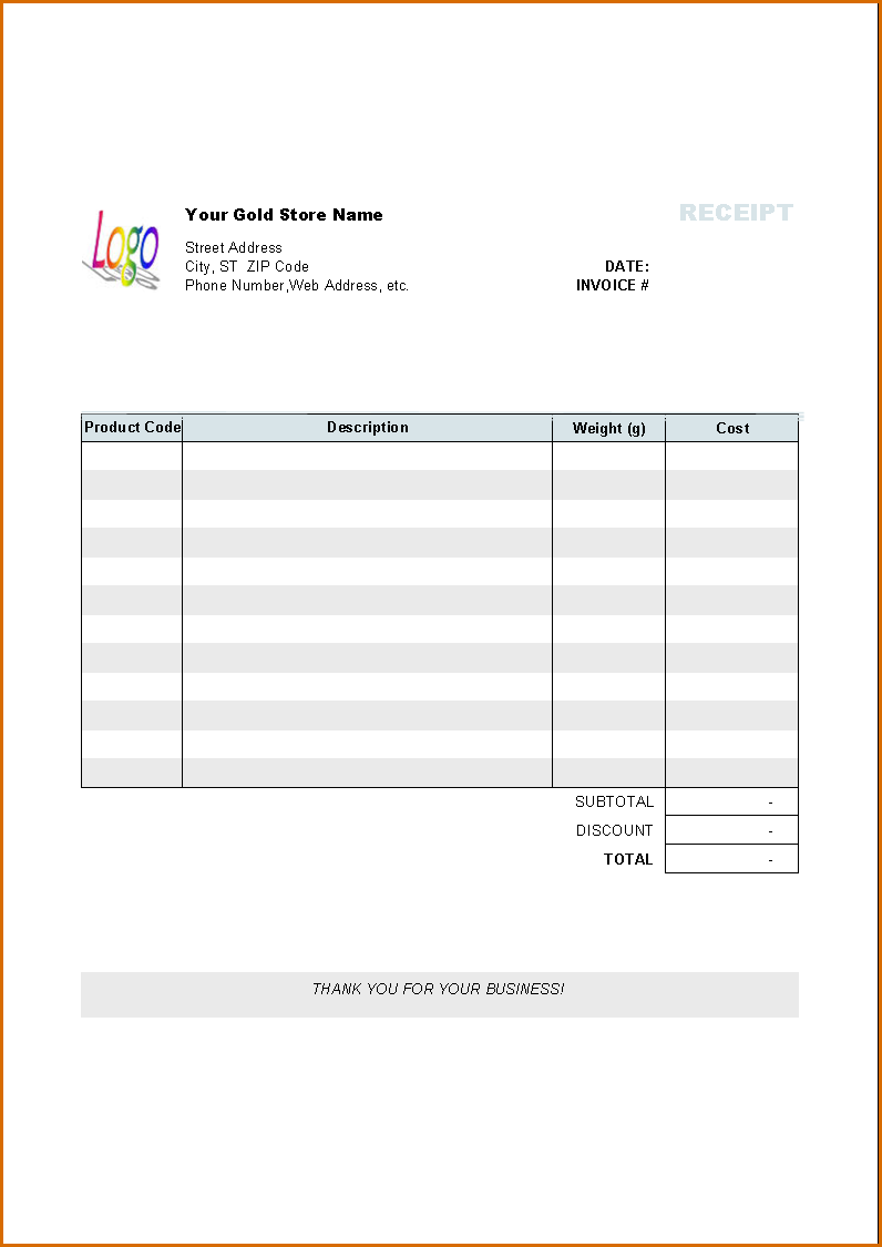Invoice Template Ipad App