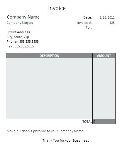 Invoice For Independent Contractor Serjiom Journal