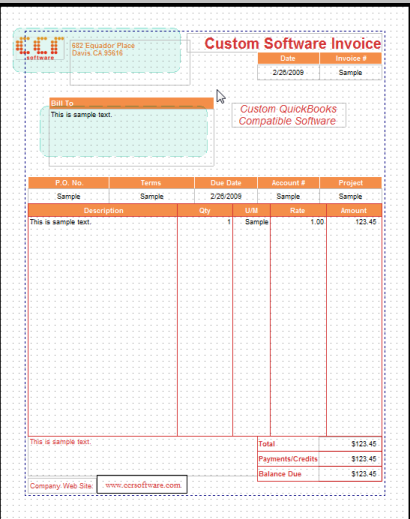 invoice templates for quickbooks how to import invoice template