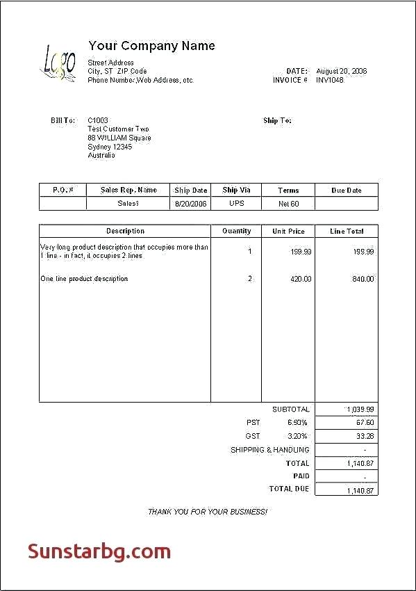 Free Download Invoice to Go Free Download Invoice Template for