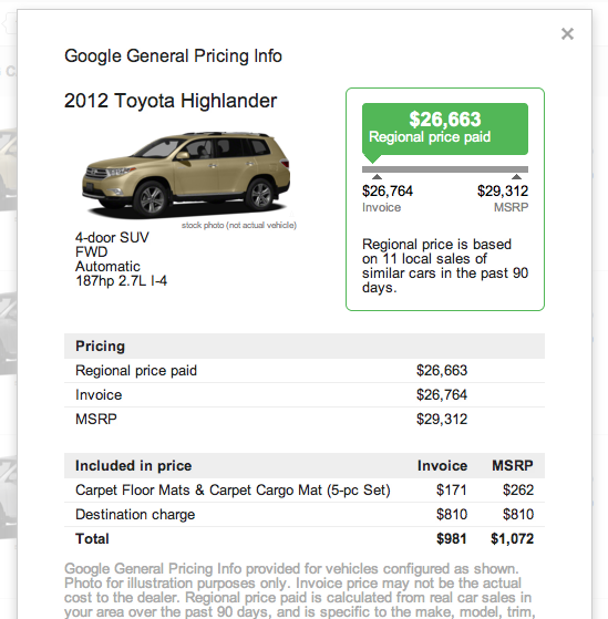 Dealer Invoice Price New Cars Charla Invoice Cost For New Cars