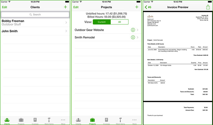 Best Invoice Apps for iPhone: Meet The Competitive Demands of
