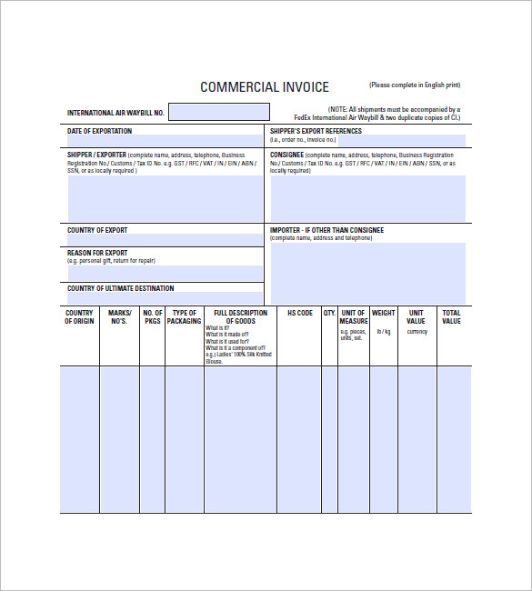 Lease Invoice Templates – 14+ Free Word, Excel, PDF Format