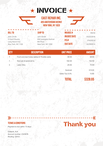 Freelance Logo Design Proposal and Invoice Template For Download