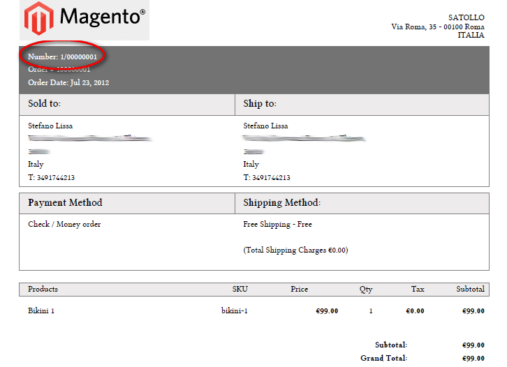 magento invoice template extension magento invoice template