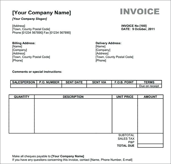 make free invoice online Ecza.solinf.co