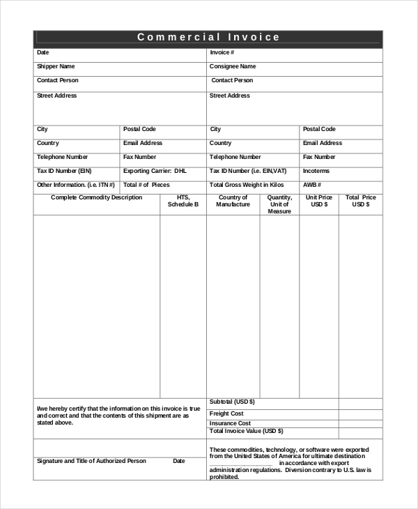 Manual Invoice Template Manual Invoice Template Professional
