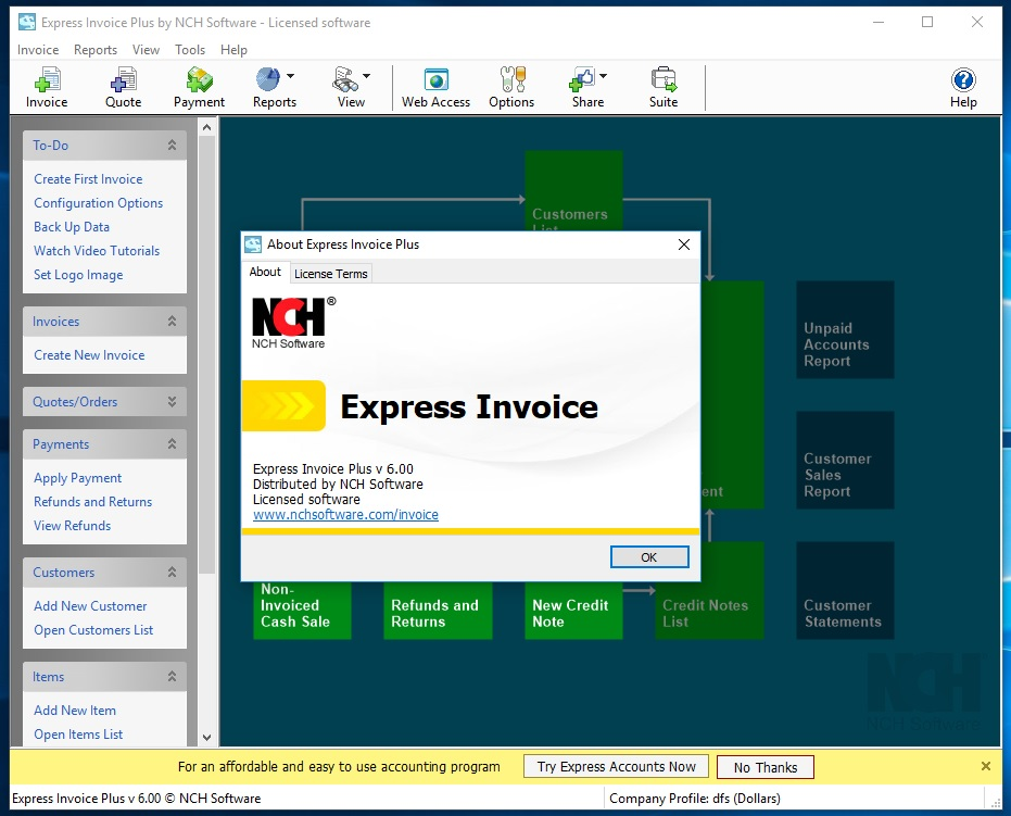 Express Invoices 6.0.0 Cracked By Abo jamal Ma x Group