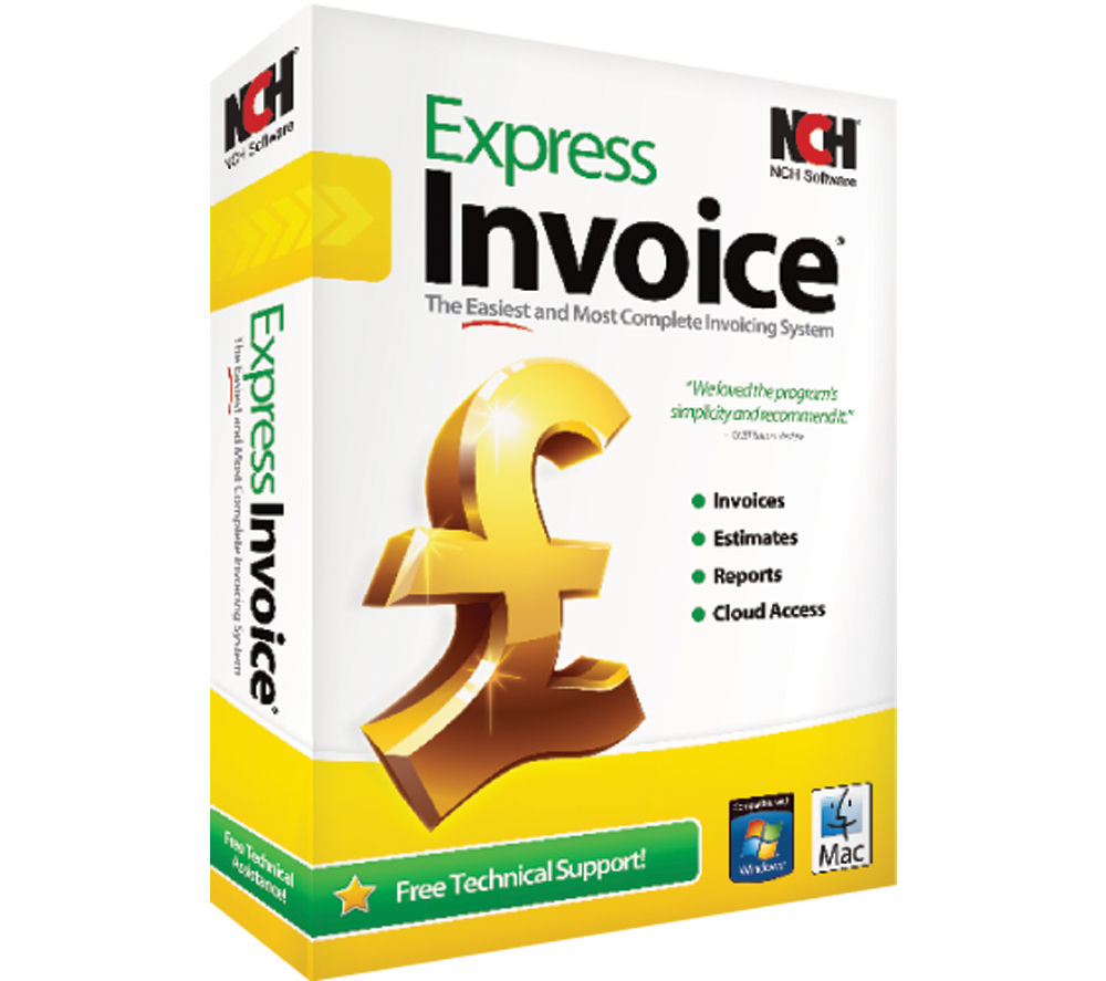 NCH SOFTWARE Express Invoice Deals | PC World