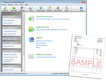 Nch Invoice Software Invoice Sample