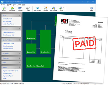 Invoicing Software for Windows & Mac