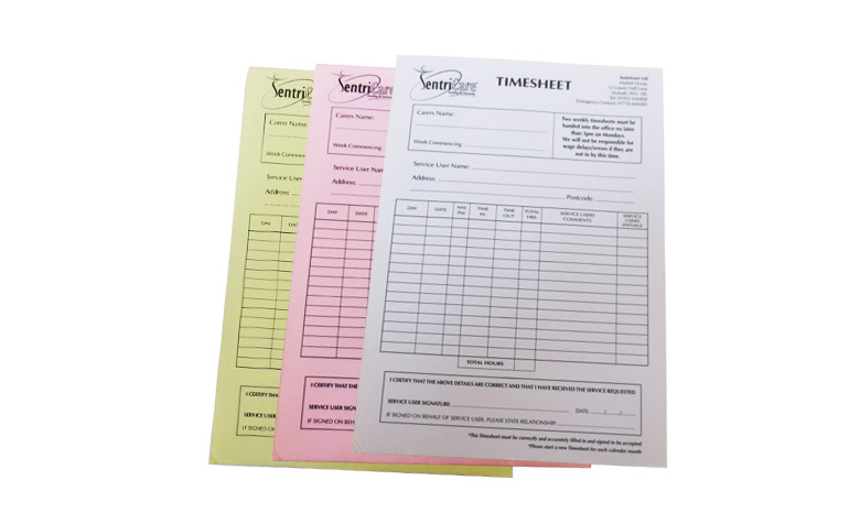 PERSONALISED DUPLICATE A5 INVOICE BOOK / PAD PRINT / NCR / RECEIPT