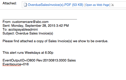 Id800 Email Past Due Invoice Overview Sample Ceo Juice Past Due