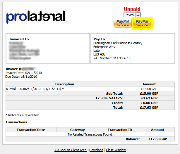 Paypal Invoice Payment Pay Invoice Paypal Charla Serjiom Journal