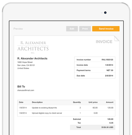 Create and Send Invoices via Email PayPal