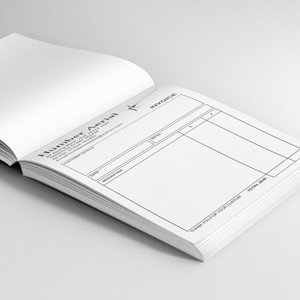 Design your Personlised Invoice Books and Reciept Pads Here