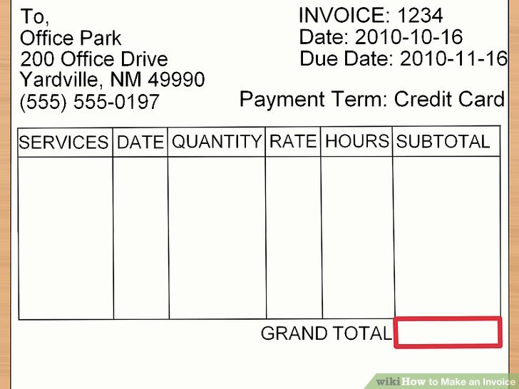 How to Make an Invoice (with Sample Invoices) wikiHow