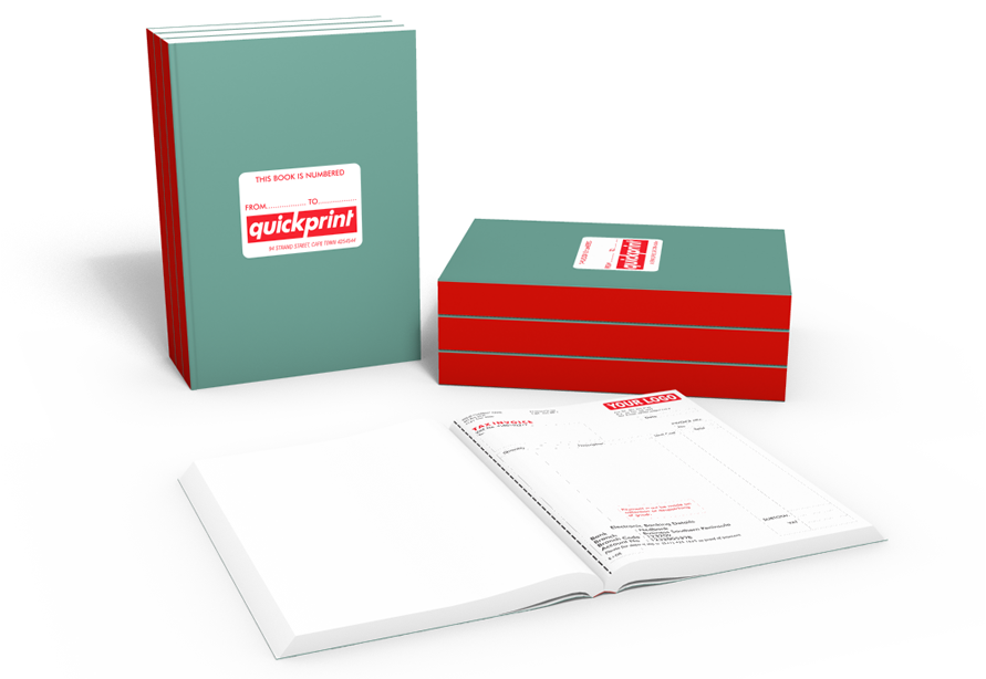 Invoice / delivery / receipt books Ideal Design & Print