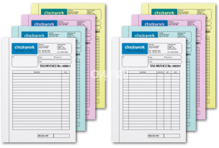 QuickPrint Printing Company | Printed Business Form Books
