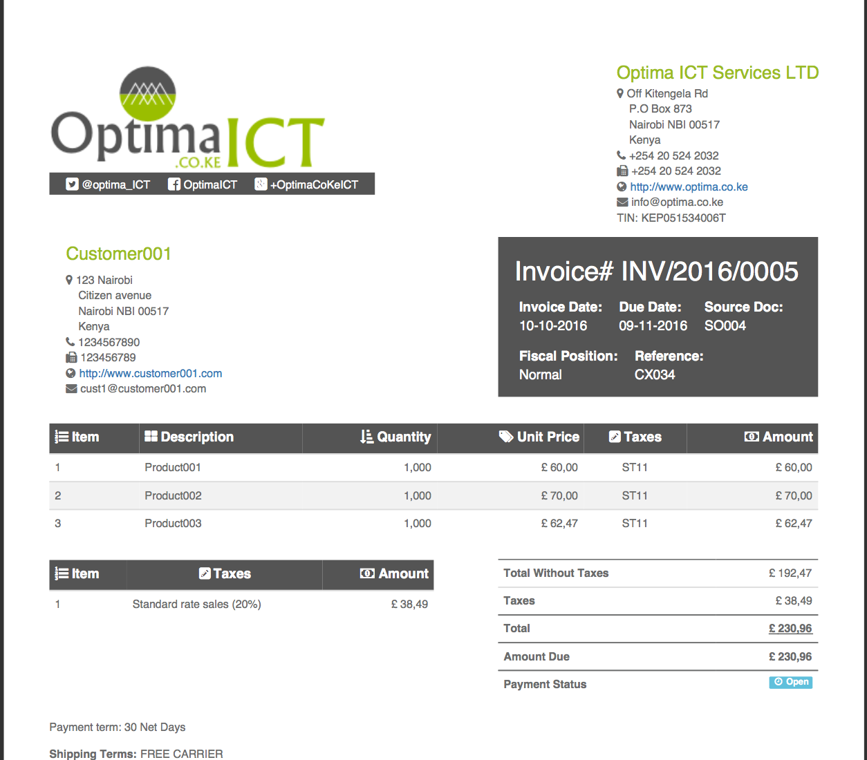 Legal Invoice Template for Attorneys | Customizable & Professional