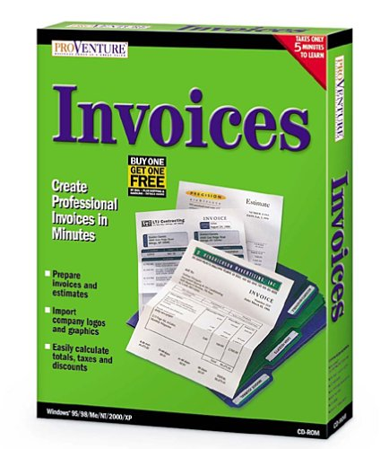 Best Office software: Proventure Invoices