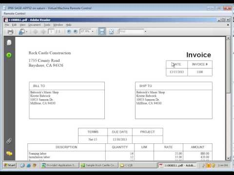 Anytime Docs PDF Invoices from Invoice Batch in QuickBooks YouTube