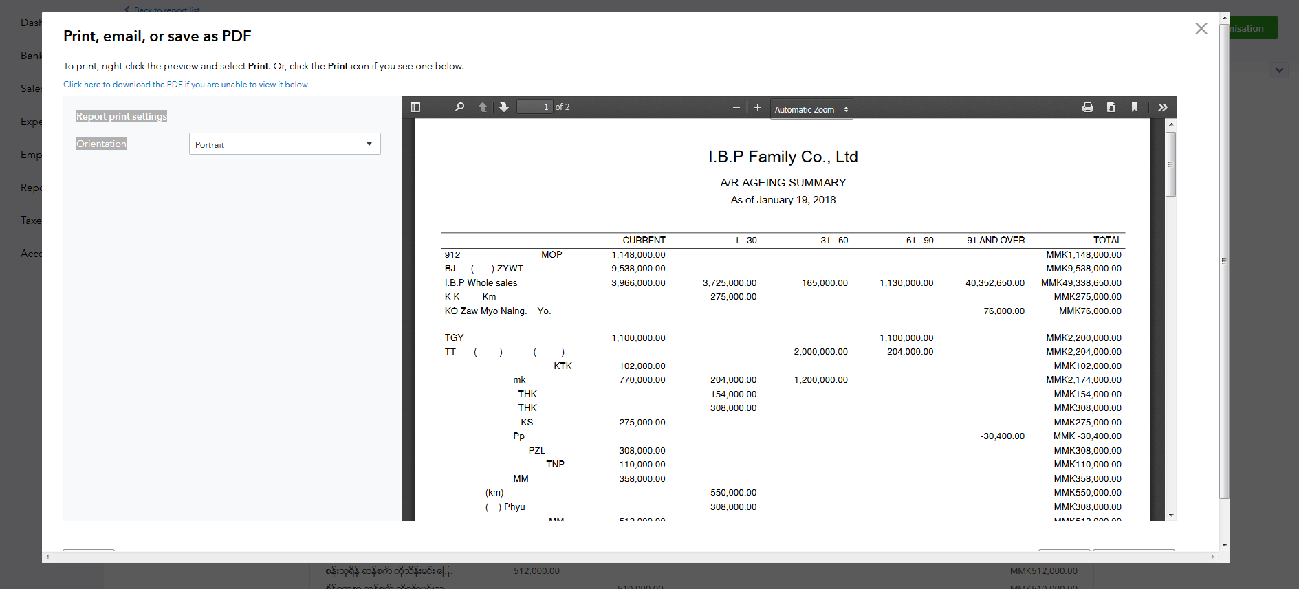 Quickbooks spreadsheet example and quickbooks invoice pdf NAF