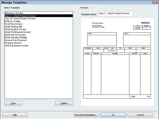 quickbooks invoice template download how to create a customized