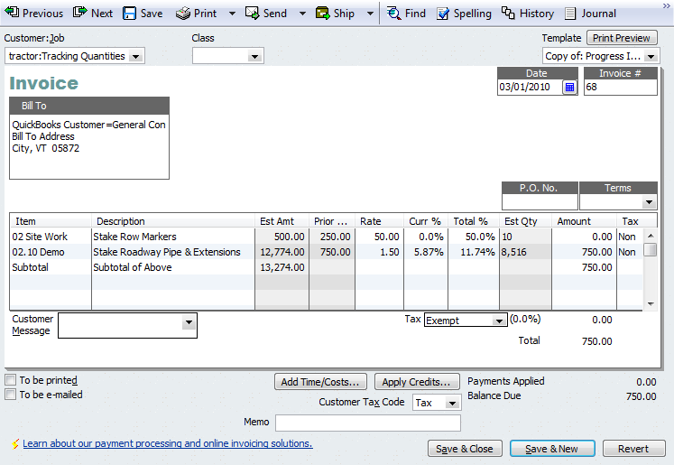 An Introduction to Progress Invoicing | QuickBooks for Contractors