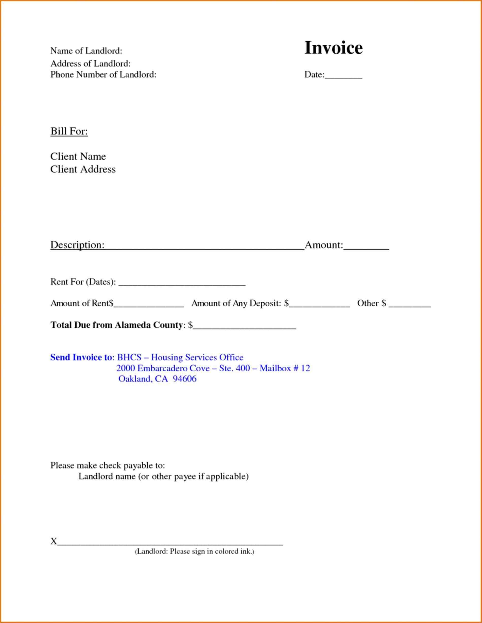 Refund Letter Format For School Fresh Security Guard Invoice
