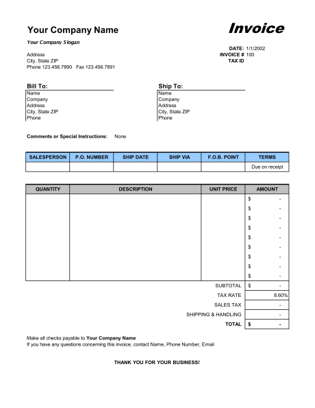 sale invoice template free example of sales invoice sales invoice excel template sample form biztree