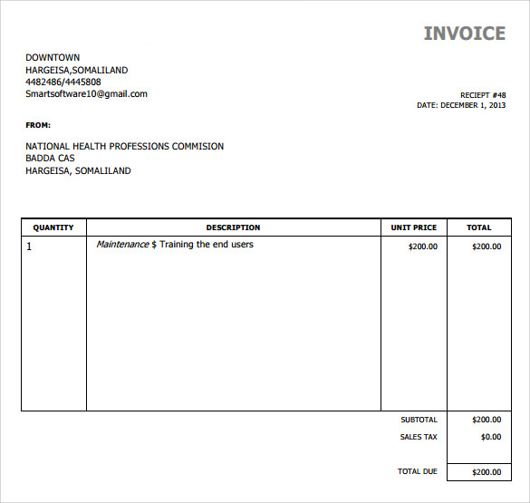 simple invoice template download Black.dgfitness.co