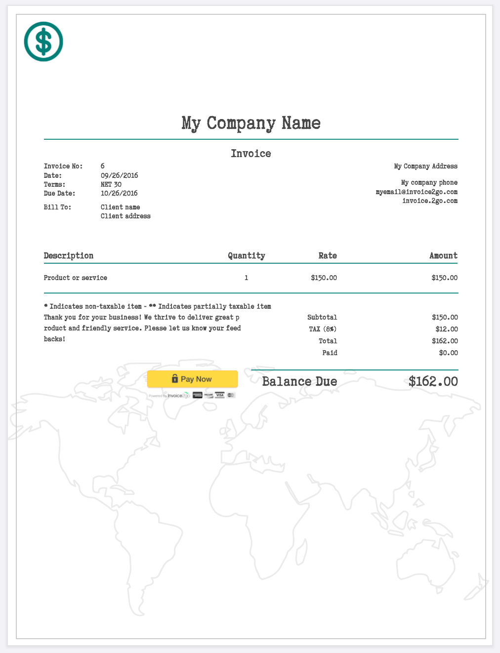 How To Create A Professional Invoice (Sample Invoice Templates