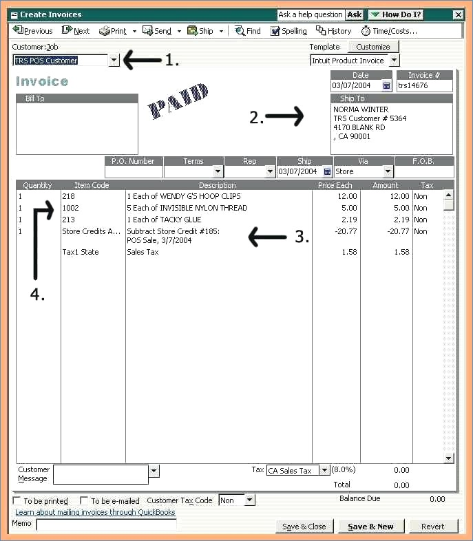 8 quickbooks invoice templates free appointmentletters quickbooks