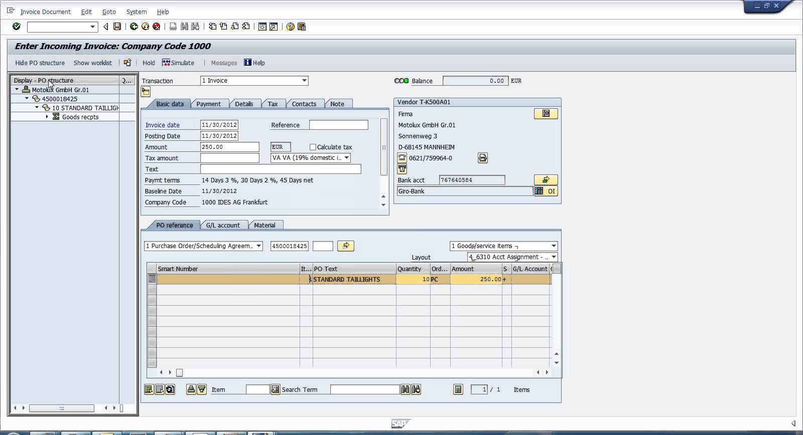 How to Post Invoice in SAP? YouTube