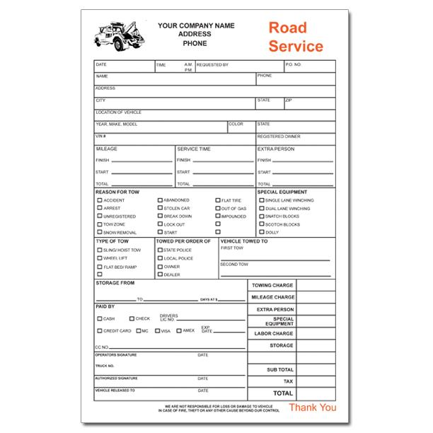 Towing Invoice Forms Towing Invoice Pinterest Free Towing Invoice
