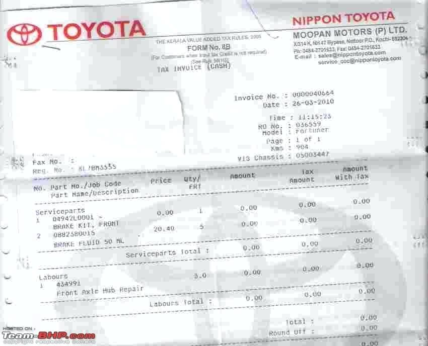 Toyota Invoice Upgrading Brakes Comparison Pics Added Dealer