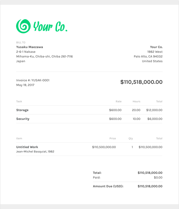 Free Video Production Invoice Templates | ZipBooks