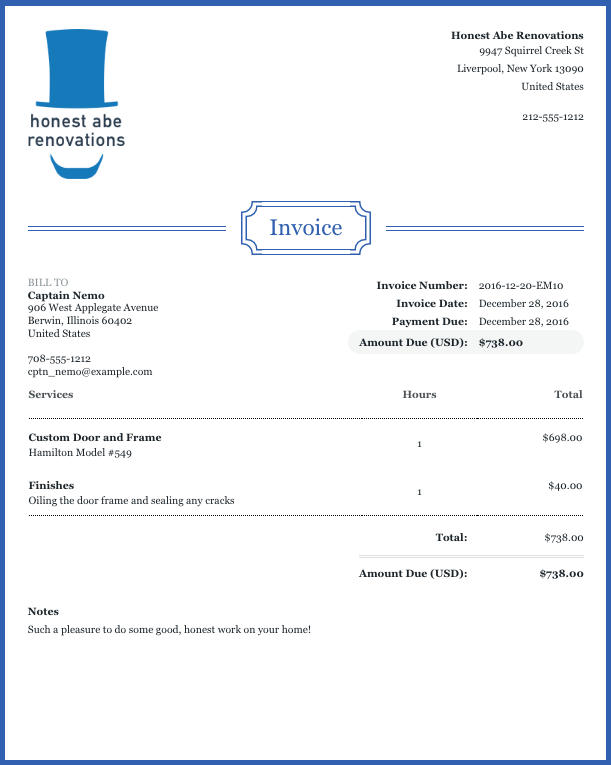How to Customize Your Invoices and Estimates – Help Center