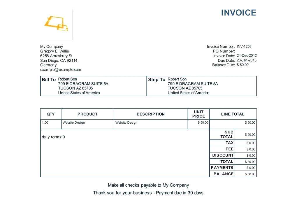 On The Invoice | dascoop.info