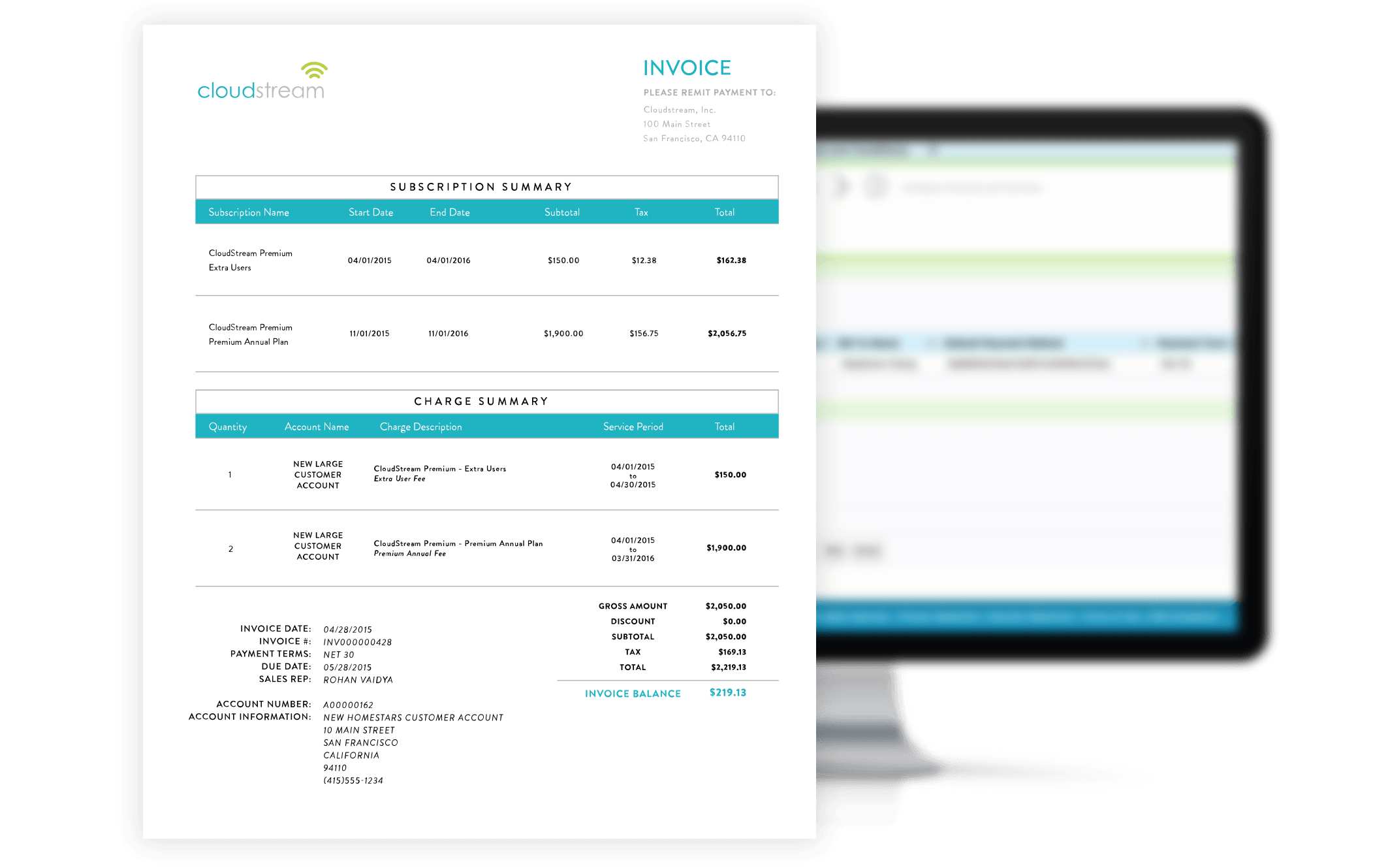 SaaS Invoicing Software Zuora